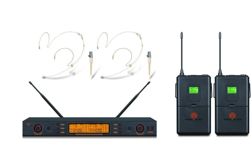 Микрофон Arthur Forty U-9300B, черный