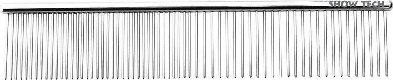 Расческа для животных Show Tech Pro Combi Comb, 26STE004, длина 19 см denman расческа pro edge master comb черная