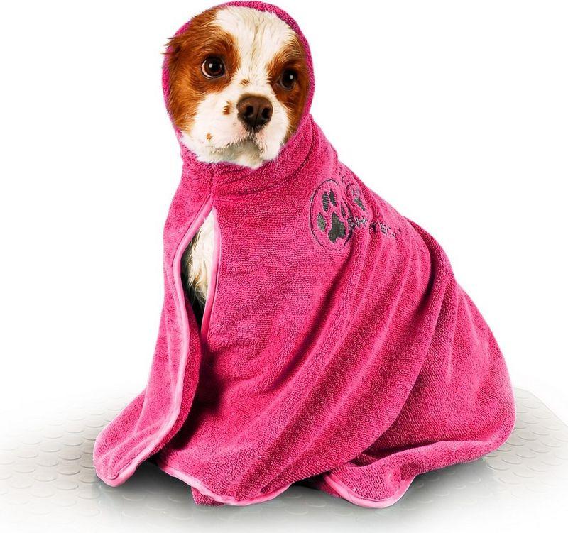 Полотенце для животных Show Tech, 33STE012, розовый, размер S