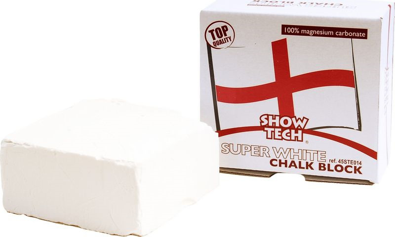Брусок меловой для шерсти Show Tech English Magnesium Chalk Block, 45STE014 мел 2шт owen bunnell inc chalk tan