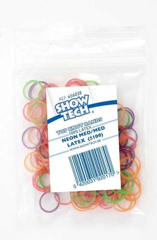 Резинки для животных Show Tech Latex Bands, 65STE083, диаметр 8 мм, 100 шт резинки средние разноцветные 12 шт
