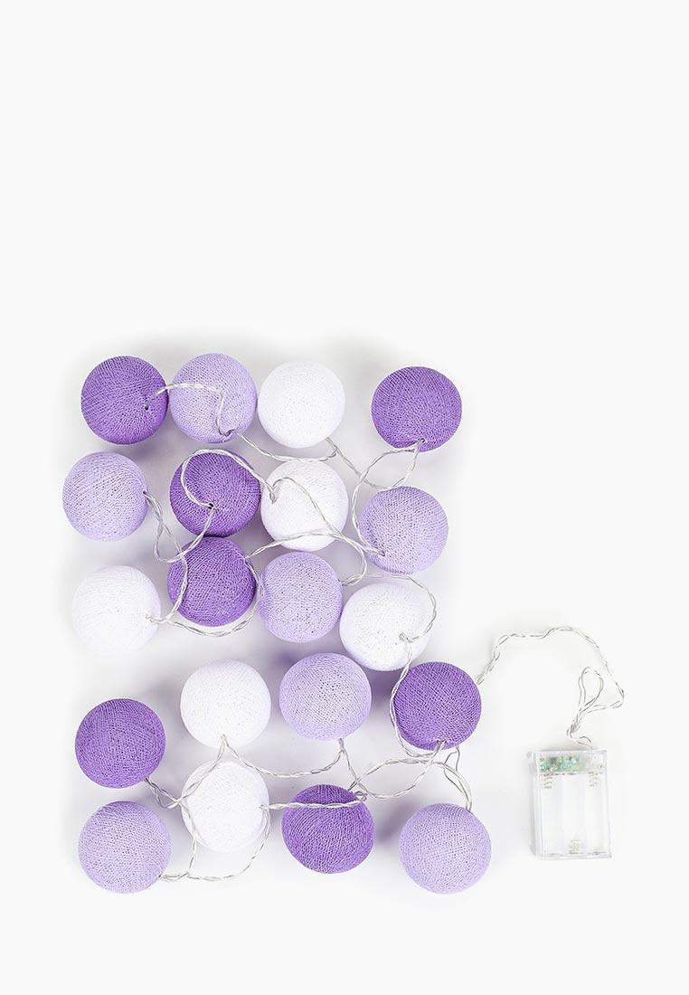 Подвесное украшение Lares & Penates Фиолетово-белая, 1700, фиолетовый