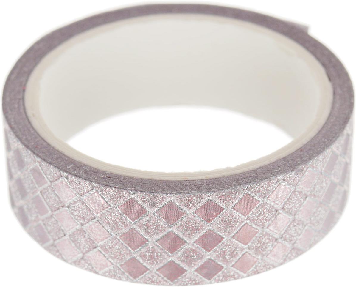 Декоративная самоклеющаяся лента Magic Home, розовый, 77760