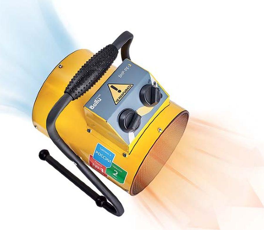 Тепловая пушка Ballu BHP-PE-2, НС-1069372, желтый Ballu