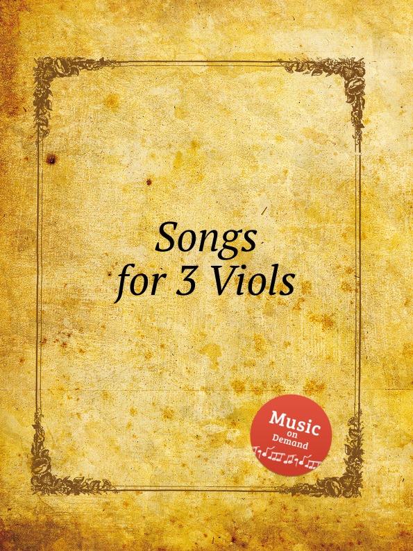W.F. Skene Songs for 3 Viols w f skene pavan for 3 viols