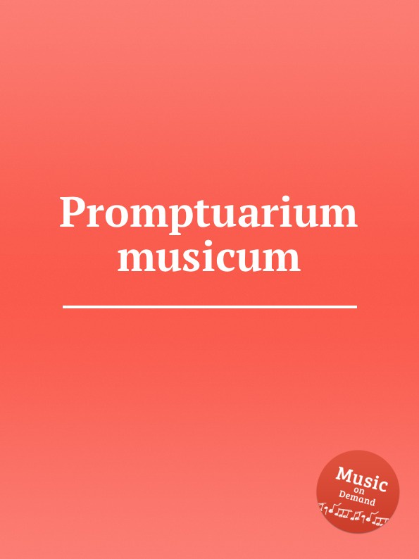 Коллектив авторов Promptuarium musicum коллектив авторов 7 chromatic baroque motets das chorwerk