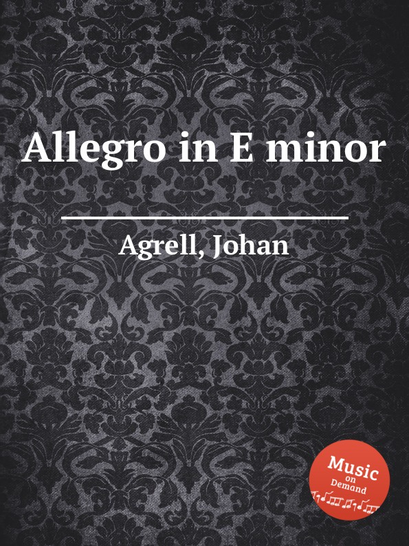 J. Agrell Allegro in E minor