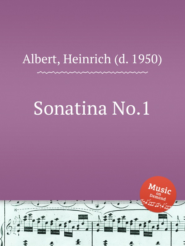 H. Albert Sonatina No.1