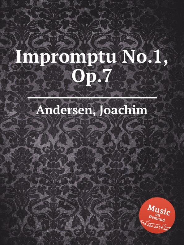 J. Andersen Impromptu No.1, Op.7 j andersen impromptu no 1 op 7