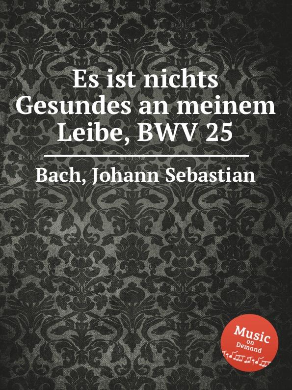 И. С. Бах Нет целого места во плоти моей, BWV 25