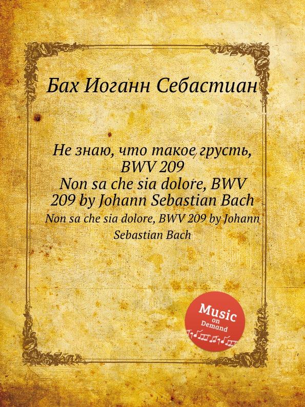 цены на И. С. Бах Не знаю, что такое грусть, BWV 209  в интернет-магазинах