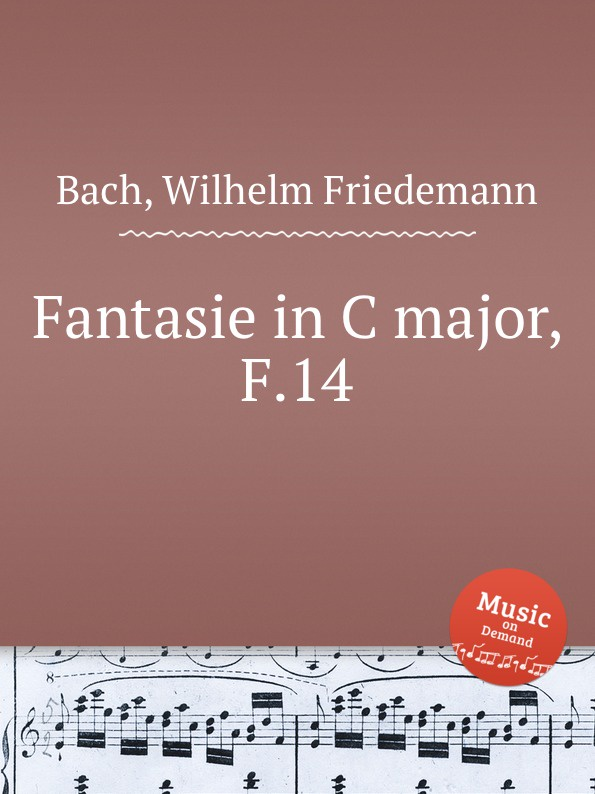 W.F. Bach Fantasie in C major, F.14 a c oury rigoletto fantasie