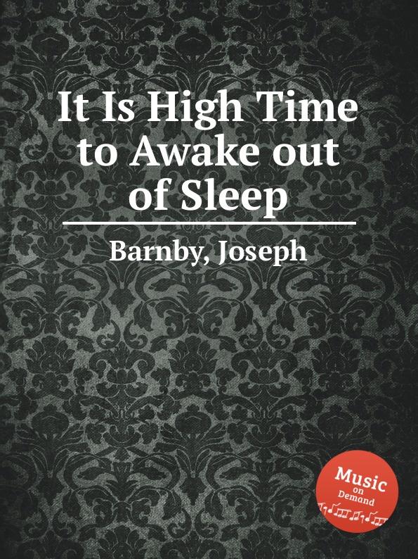 J. Barnby It Is High Time to Awake out of Sleep safe device anti sleep drowsy alarm alert sleepy reminder for car driver to keep awake