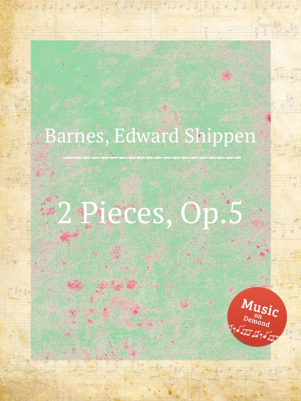 E.S. Barnes 2 Pieces, Op.5