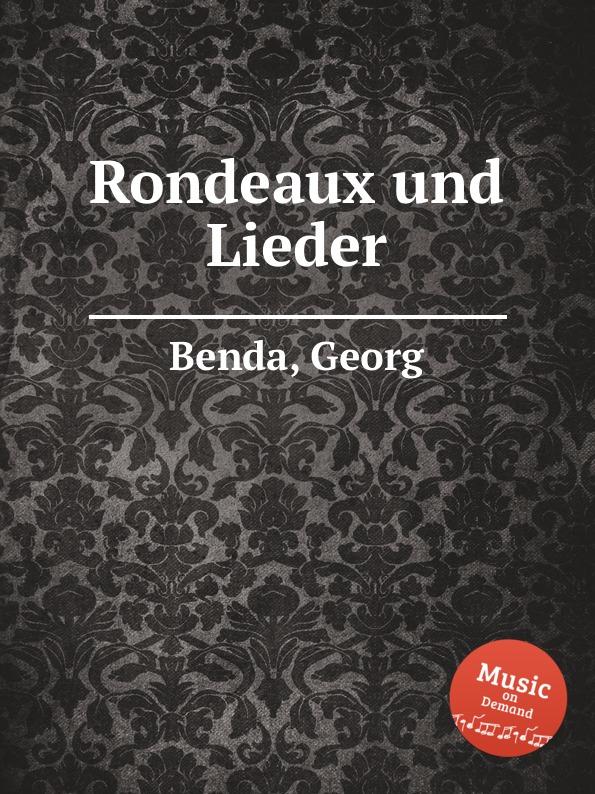 G. Benda Rondeaux und Lieder g benda sammlung italienischer arien