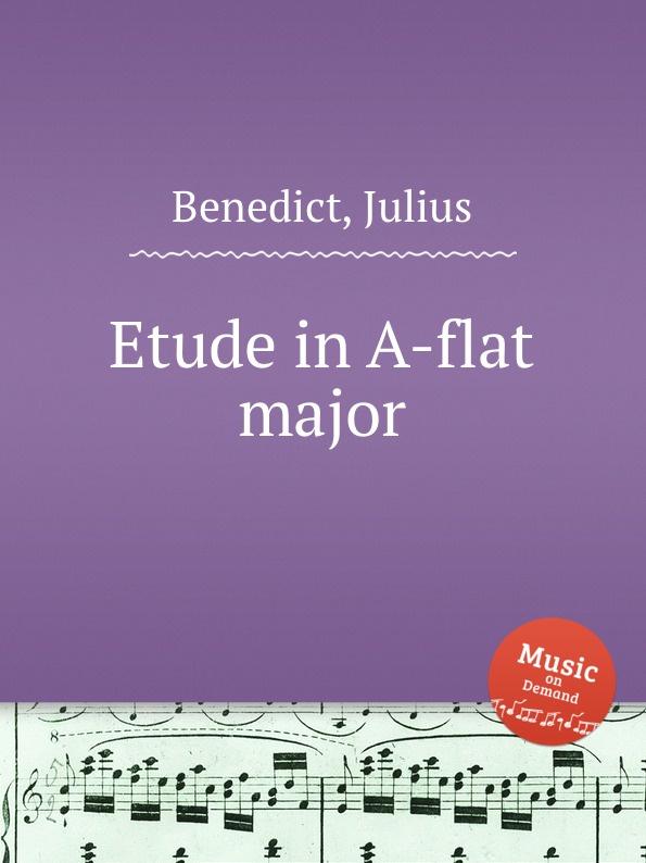 J. Benedict Etude in A-flat major
