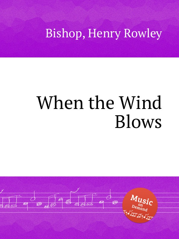 H.R. Bishop When the Wind Blows jacky christie the wind blows north