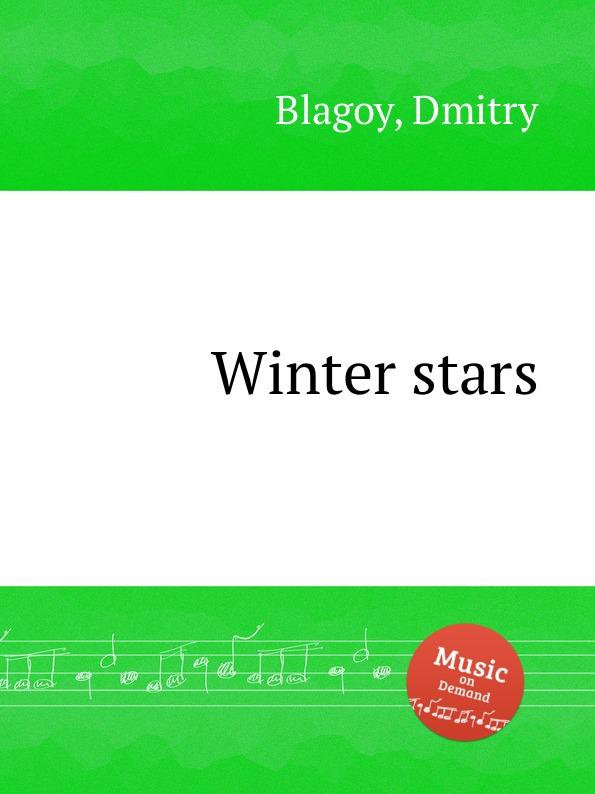 D. Blagoy Winter stars d blagoy contrasts