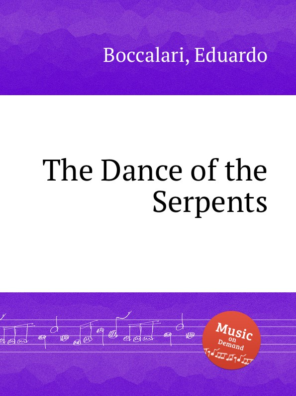 E. Boccalari The Dance of the Serpents tongues of serpents