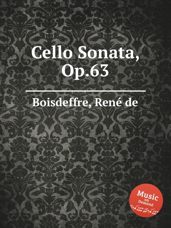 R. de Boisdeffre Cello Sonata, Op.63 r de boisdeffre suite orientale op 42