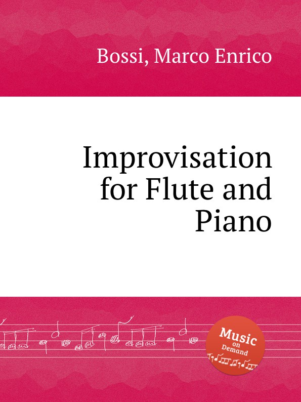 M. E. Bossi Improvisation for Flute and Piano traditional handcrafted bamboo flute with flute diaphragm and soft pouch e key