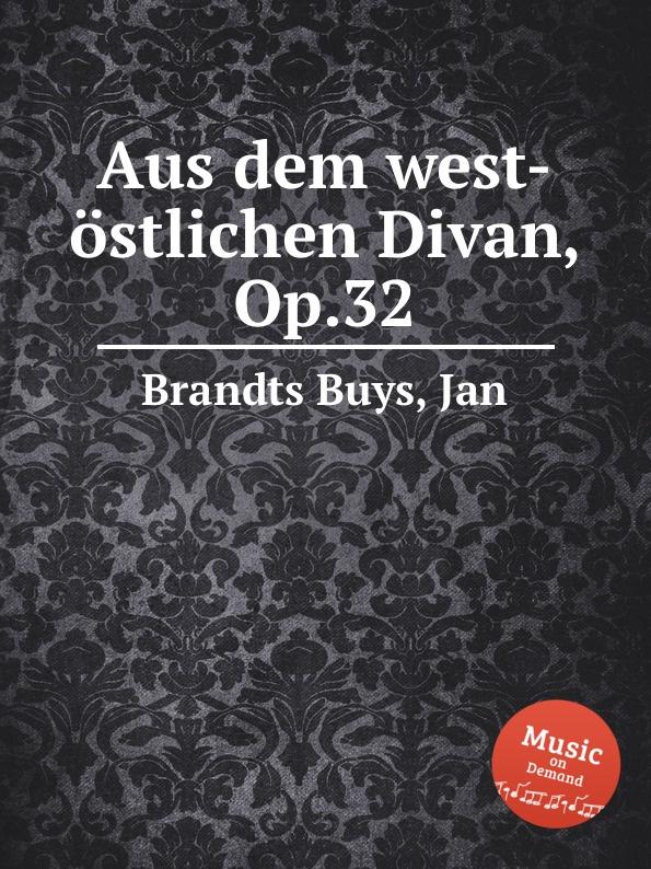 все цены на Aus dem west-ostlichen Divan, Op.32 онлайн