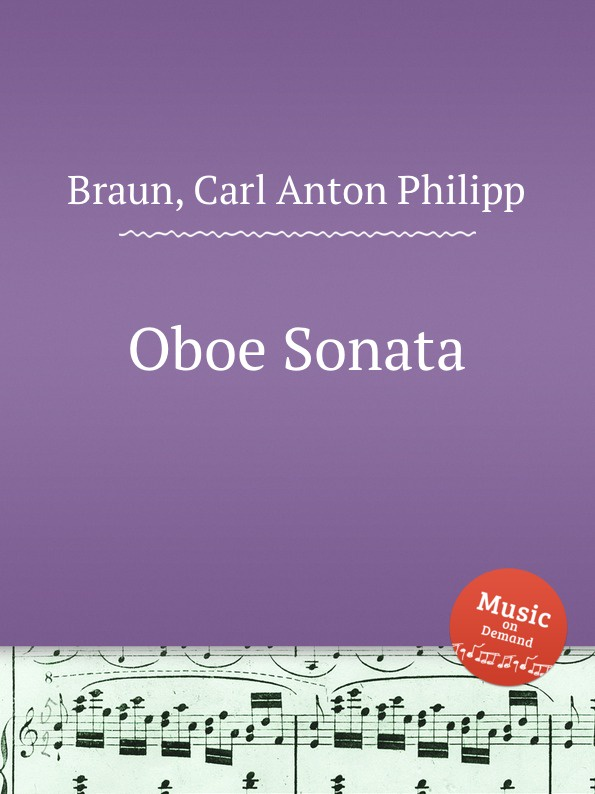C. A. Ph. Braun Oboe Sonata c a ph braun 18 caprices for oboe