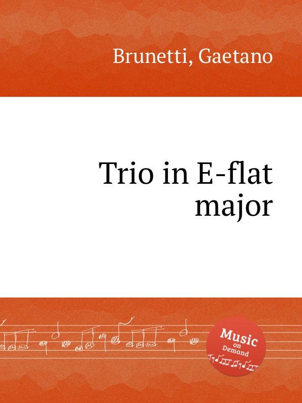 лучшая цена G. Brunetti Trio in E-flat major