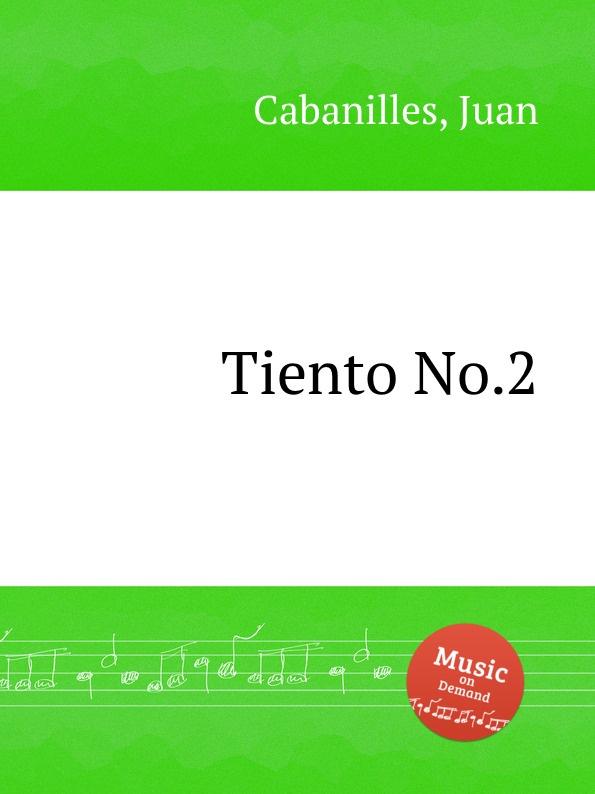 J. Cabanilles Tiento No.2 j cabanilles tiento no 20