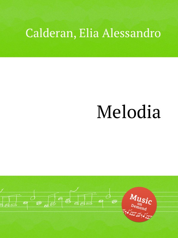 E. A. Calderan Melodia seraph melodia armastus on kohal