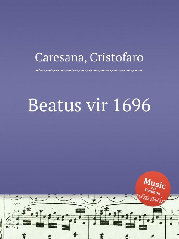 цена на C. Caresana Beatus vir 1696