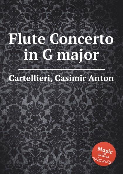 C. A. Cartellieri Flute Concerto in G major оплетка autoprofi ap 810 bk bk gy m