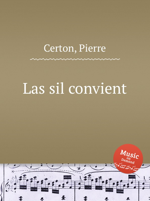 P. Certon Las sil convient