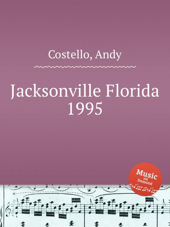 A. Costello Jacksonville Florida 1995 футболка print bar jacksonville jaguars джэксонвилл джагуарс