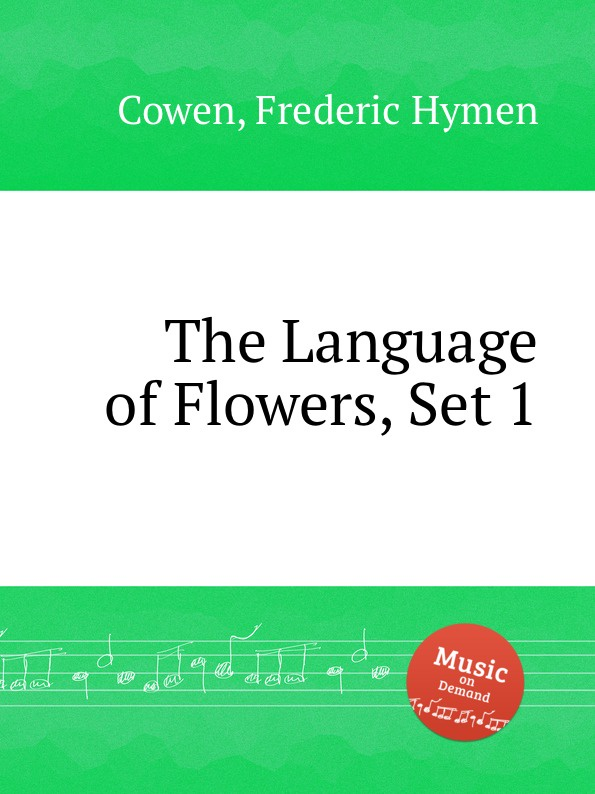 F. H. Cowen The Language of Flowers, Set 1 f h cowen the rose of life
