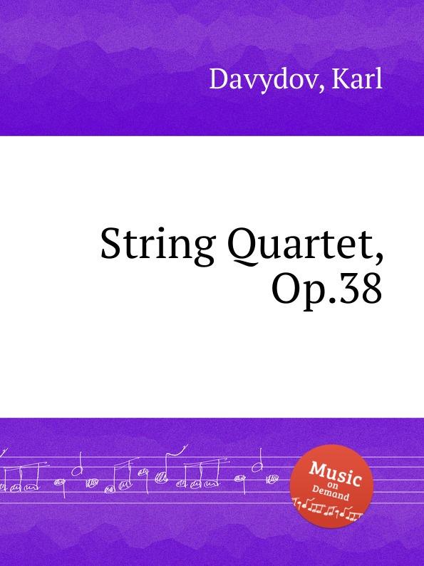 лучшая цена K. Davydov String Quartet, Op.38