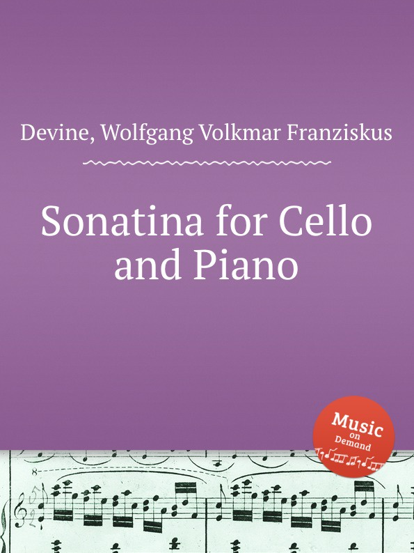 W.V.F. Devine Sonatina for Cello and Piano
