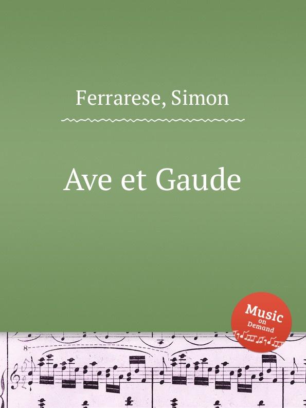 S. Ferrarese Ave et Gaude gaude сумка