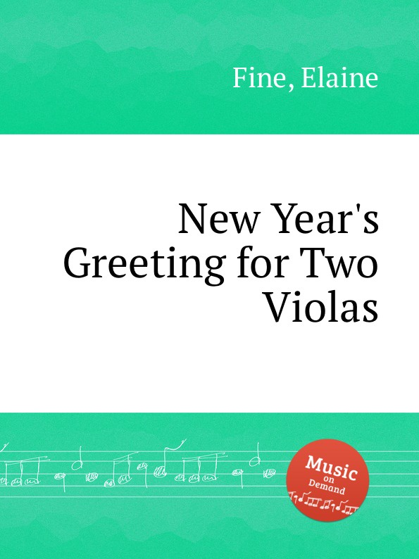 E. Fine New Year.s Greeting for Two Violas new original ni40 g47sr vp4x warranty for two year