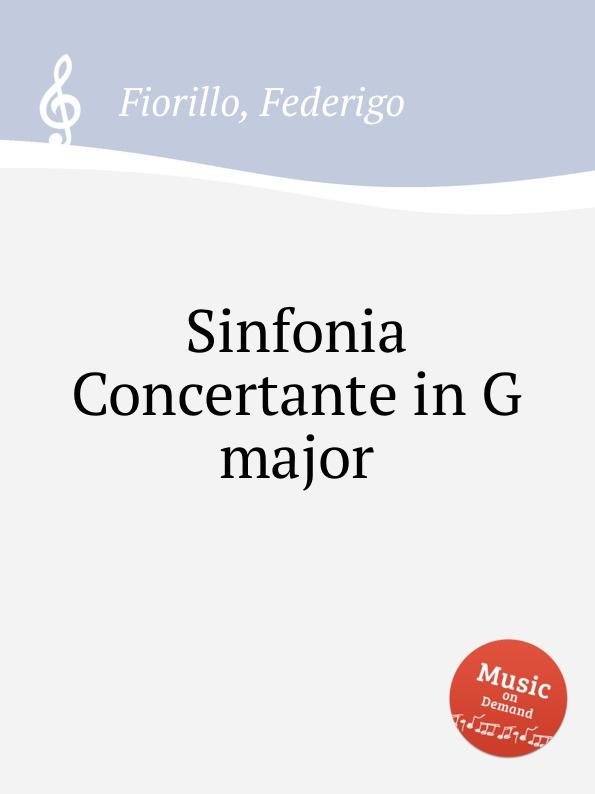 цена F. Fiorillo Sinfonia Concertante in G major в интернет-магазинах