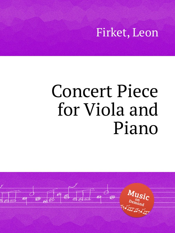 лучшая цена L. Firket Concert Piece for Viola and Piano