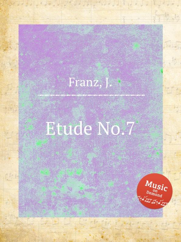 J. Franz Etude No.7 цена