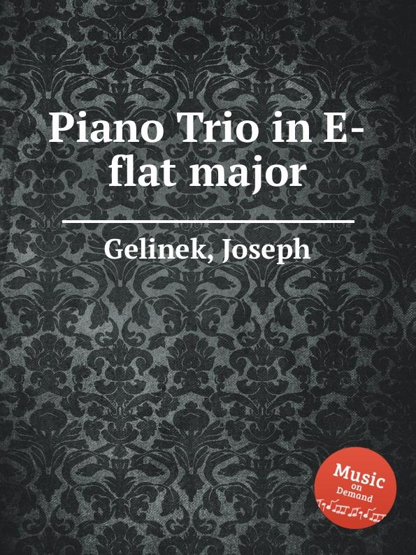 лучшая цена J. Gelinek Piano Trio in E-flat major