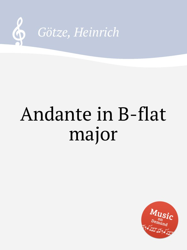 H. Götze Andante in B-flat major yamaha thr10c