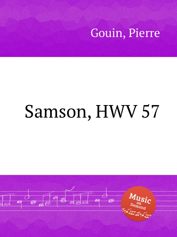 цены P. Gouin Samson, HWV 57