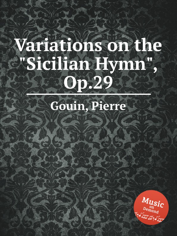 P. Gouin Variations on the