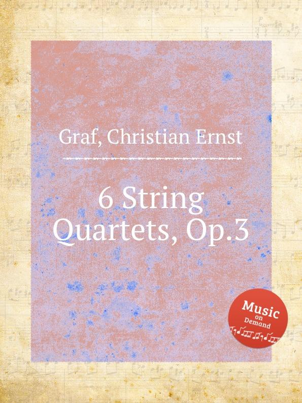 где купить C.E. Graf 6 String Quartets, Op.3 по лучшей цене