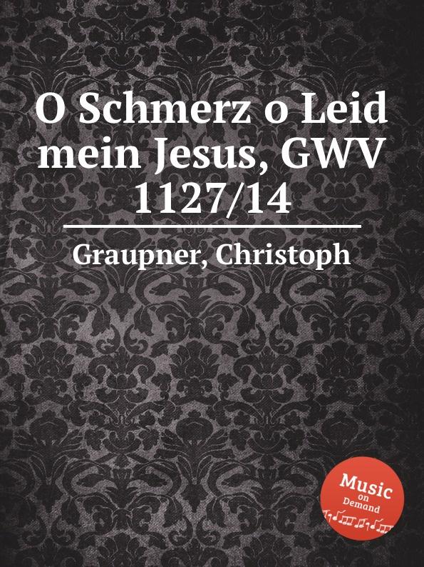 C. Graupner O Schmerz o Leid mein Jesus, GWV 1127/14 c graupner o susses wort das jesus spricht gwv 1157 32