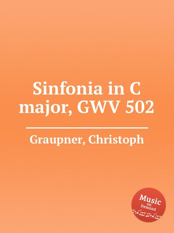 C. Graupner Sinfonia in C major, GWV 502 c graupner trio sonata in b flat major gwv 217