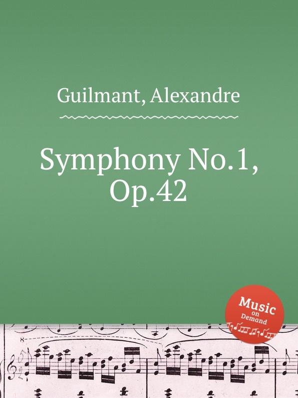 лучшая цена A. Guilmant Symphony No.1, Op.42